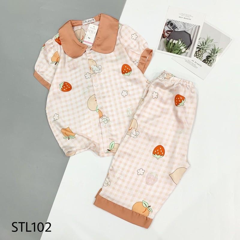 Mặc gì đẹp: Thoải mái với Đồ Ngủ Pijama Lụa Satin Tay Phồng  Siêu Xinh,Lửng Mềm Mịn, Độc Lạ Khó Tìm, Sanh Chảnh Hàn Quốc