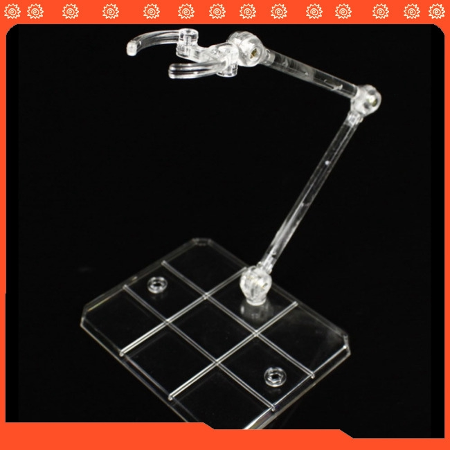 Action Base Clear Display Stand for 1/144 HG/RG Gundam Figure Model Toy