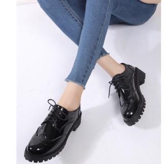 Giày Oxford da bóng buộc dây thumbnail