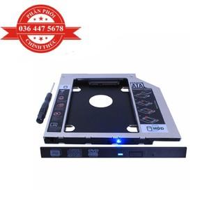 Caddybay dùng thay thế ổ DVD gắn trong Laptop bằng ổ cứng 2.5 inch thumbnail