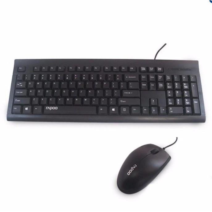 Bộ phím chuột có dây Rapoo RX1700-Hãng phân phối chính thức