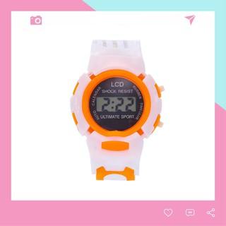 ĐỒNG HỒ TRẺ EM ĐIỆN TỬ LCD ĐẸP SHOCK RESIST DH75 thumbnail