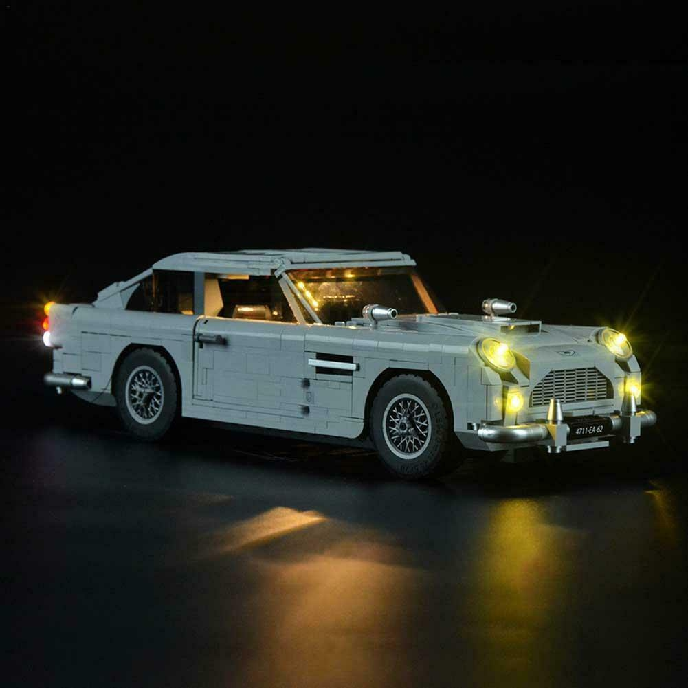 LED Light Lighting Kit ONLY For Lego 10262 Aston Martin DB5 James Bond Bricks