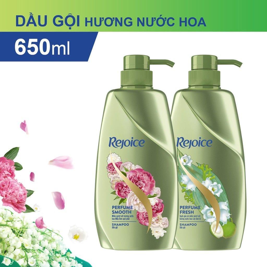 [HÀ NỘI] Dầu Gội Rejoice Nước Hoa Chai 650G