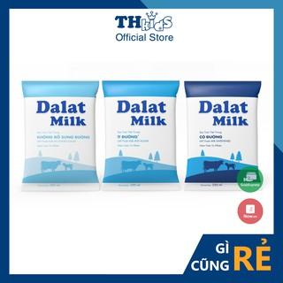 Túi Sữa Tươi Tiệt Trùng DALAT MILK 220ML