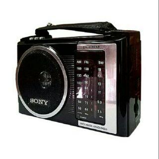 [Mã ELFLASH5 giảm 20K đơn 50K] Radio chuyên dụng Sony SW-601UAR 4 band có bluetooth