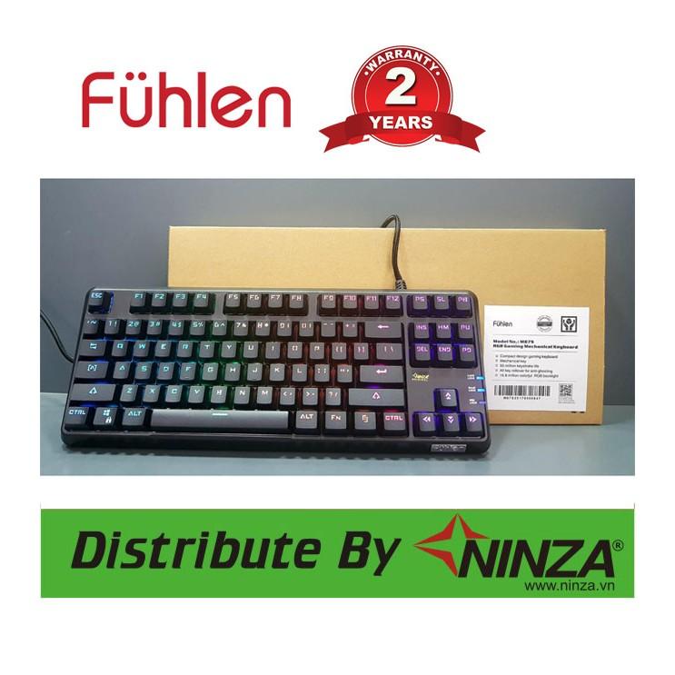 Phím cơ Fuhlen M87S RGB new
