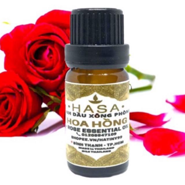 🔥🔥 Tinh dầu Hoa hồng HASA - Lọ 10ml (Rose)