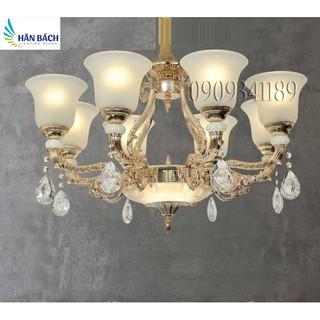 đèn chùm phòng khách,đèn chùm hiện đại,đèn gắn trần phòng khách 8 tay