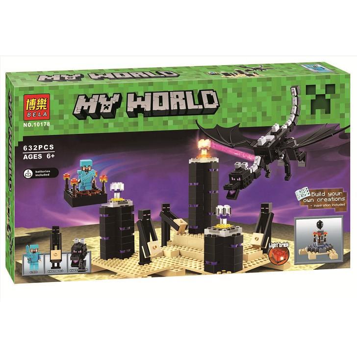 (HÀNG CÓ SẴN) Mẫu lắp ráp Lego Minecraft Rồng Ender Bela 10178 - 14538670 , 1807215222 , 322_1807215222 , 469000 , HANG-CO-SAN-Mau-lap-rap-Lego-Minecraft-Rong-Ender-Bela-10178-322_1807215222 , shopee.vn , (HÀNG CÓ SẴN) Mẫu lắp ráp Lego Minecraft Rồng Ender Bela 10178
