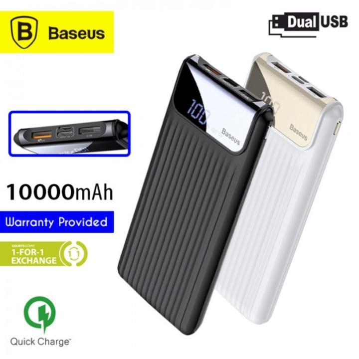 Pin sạc dự phòng Baseus PPYZ-C Power Bank 10,000mAh cho Smartphone/ Tablet
