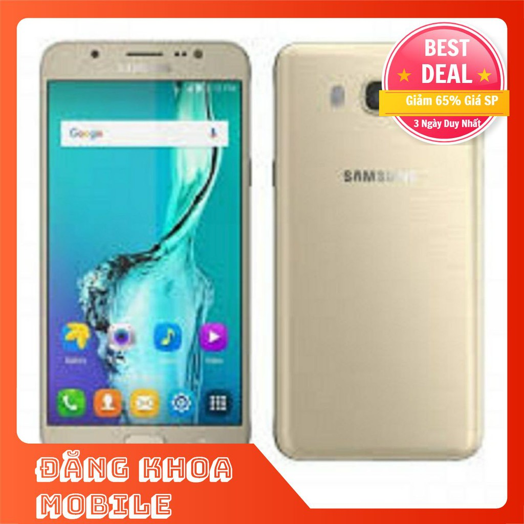 [DÙNG LÀ THÍCH][XẢ KHO] điện thoại Samsung Galaxy J7 2016 2sim mới 16G, camera nét [TAS09]