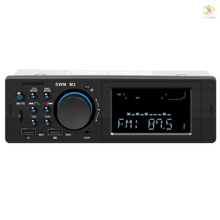 Đầu radio xe ô tô ET SWM M2 Bluetooth FM Radio 60W hỗ trợ cổng USB và phích cắm tai nghe 3.5mm AUX thumbnail