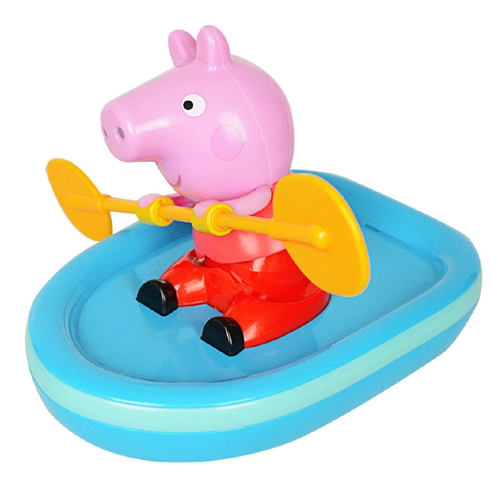 Peppa Pig Rowing Boat Baby Bathing Fun Water Toy Educational Toy for Kids