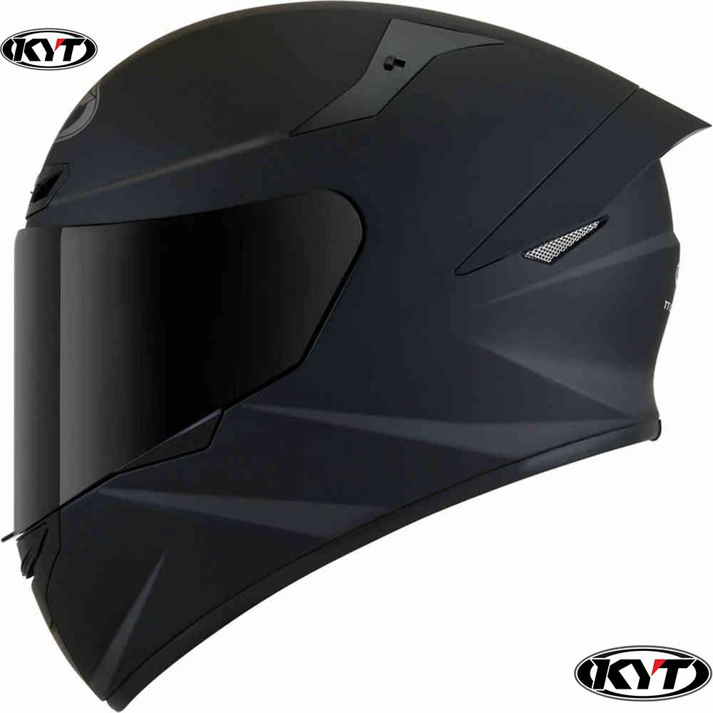 Nón KYT fullface chính hãng TT Course Đen bóng