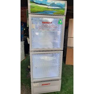 Tủ mát Sanaky đẹp long lanh, ít hao điện, bền, dùng cực đã