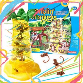 [Mã TOYBIGSALE hoàn 10% xu đơn 99K] Trò chơi game trẻ con vui nhộn Rút Khỉ – Tumblin' Monkeys