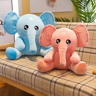 Elephant plush toy pillow to accompany sleeping and comfort pillow small elephan