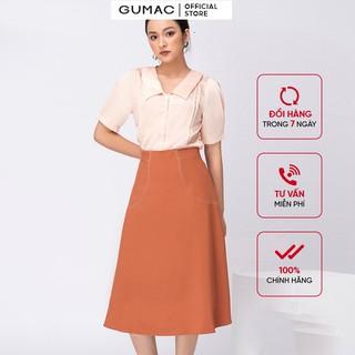 Chân váy dài ôm eo GUMAC VA11243