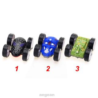 Cartoon Double Sided Pull-back Alloy Bright Colors Inertia Kids Children Operational Ability Toy Car