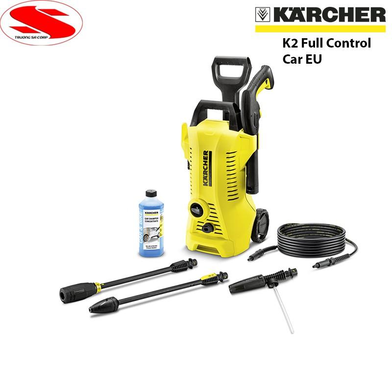 [CHÍNH HÃNG] Máy rửa xe mini gia đình có chỉnh áp Karcher K2 Full Control C