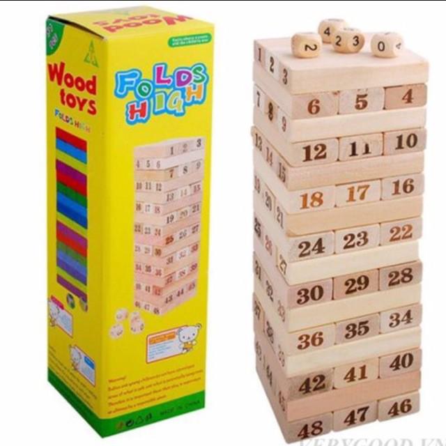 Combo 5 bộ rút gỗ số lớn  Jloạn