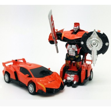 Đồ chơi trẻ em Sanyou King Kong Lamborghini xe biến hình siêu nhân