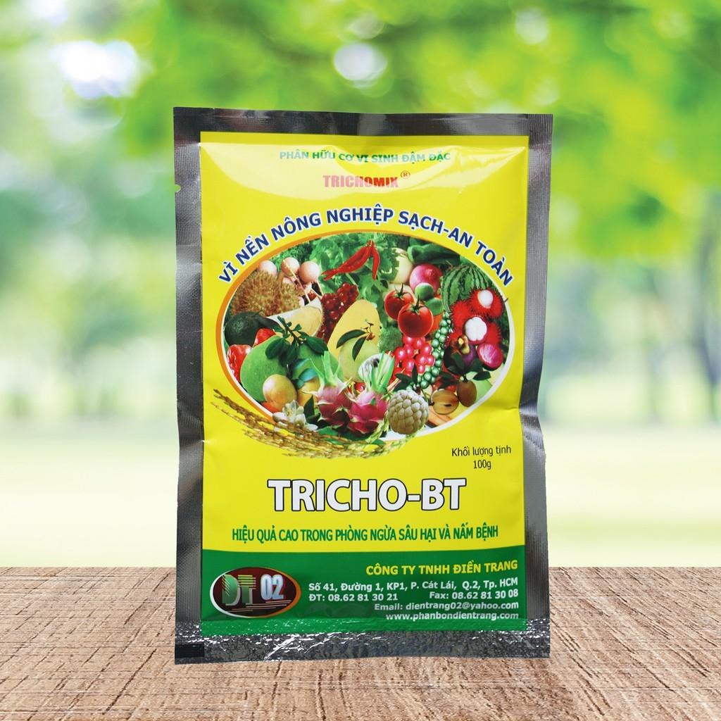 Nấm Trichoderma phòng ngừa nấm bệnh Tricho BT 100g