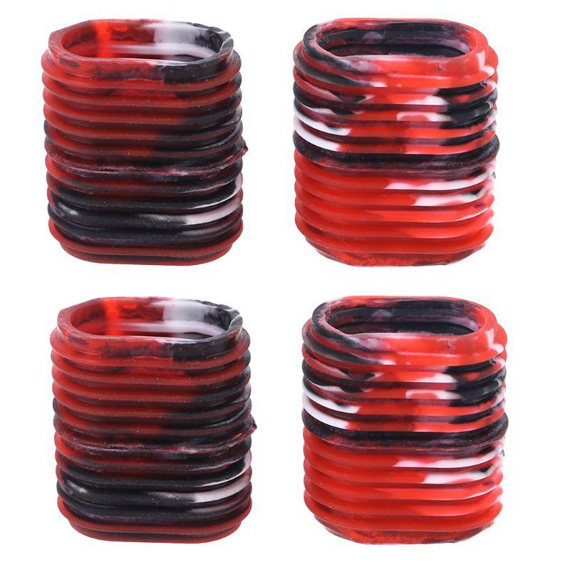 4Pcs Portable Multicolor Fishing Reel Grip Handle Cover Non-Slip Ergonomic Knob