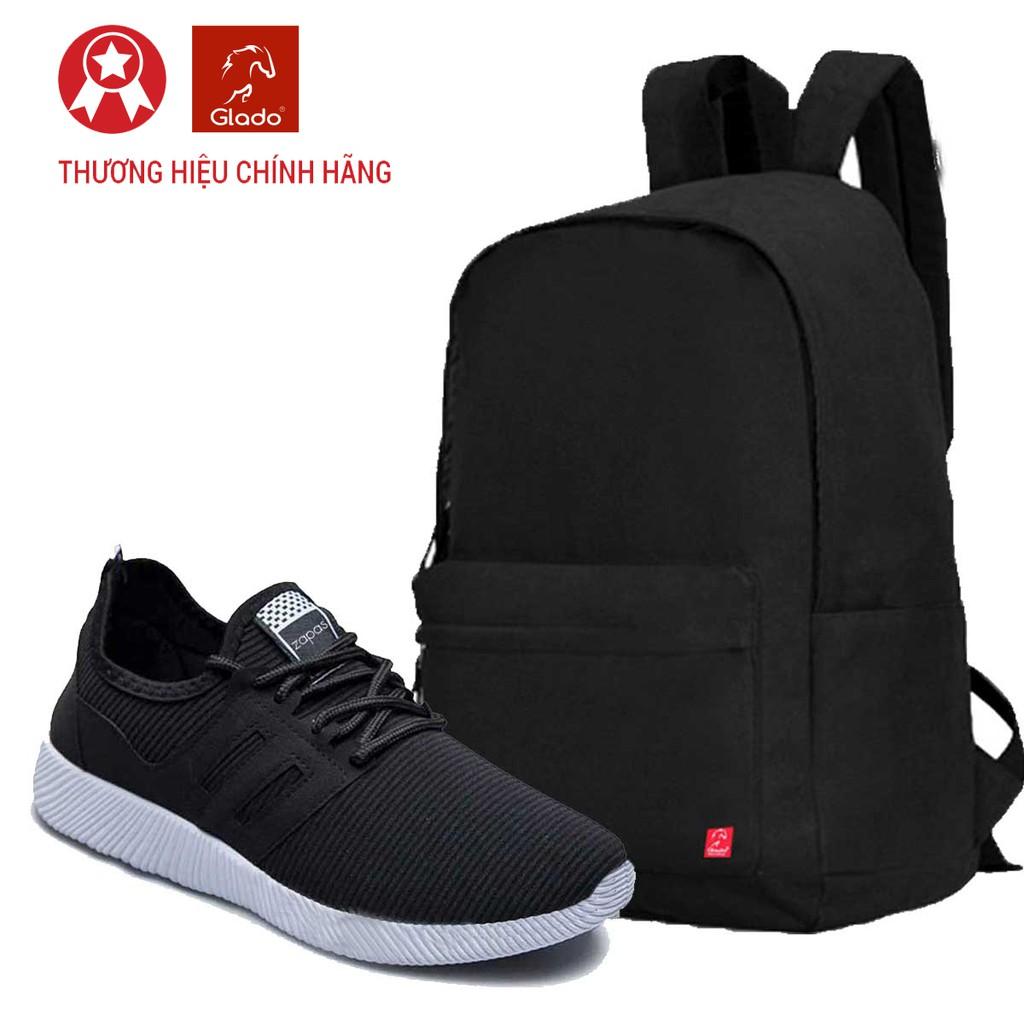 Combo Balo Classical Glado BLL002 (Đen) + Giày Sneaker Thời Trang Zapas (Màu Đen-Xanh-Xám) - GS068 - 3035202 , 307992569 , 322_307992569 , 220000 , Combo-Balo-Classical-Glado-BLL002-Den-Giay-Sneaker-Thoi-Trang-Zapas-Mau-Den-Xanh-Xam-GS068-322_307992569 , shopee.vn , Combo Balo Classical Glado BLL002 (Đen) + Giày Sneaker Thời Trang Zapas (Màu Đen-Xan