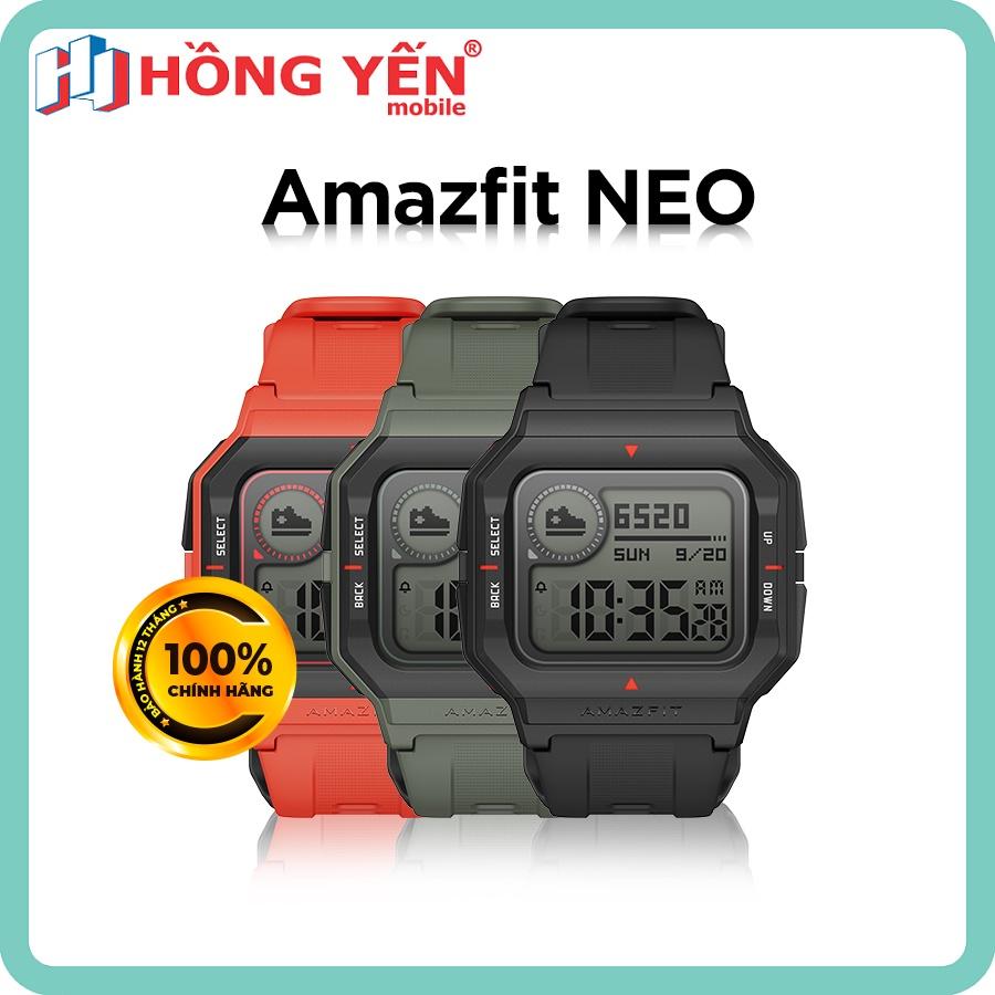 Đồng hồ thông minh Xiaomi Amazfit NEO - Hàng Chính Hãng Digiworld Phân Phối - Bảo Hành 12 Tháng