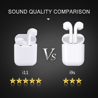 [HÀNG SẴN] Tai Nghe Airpod Bluetooth 5.0 Không Dây/Tai nghe không dây I11 Tws Super Bass cho Ios và Android.
