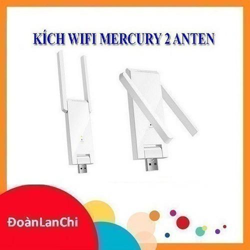 [ GIÁ HUỶ DIỆT] Kích sóng wifi mercury 2 râu Giá chỉ 121.000₫