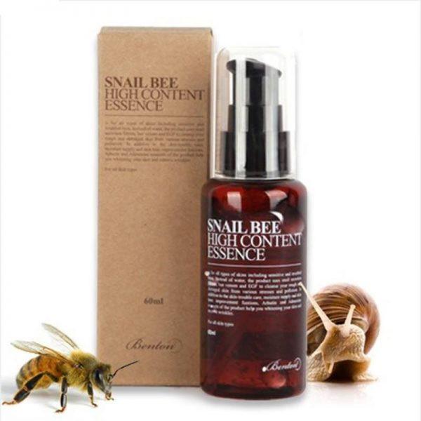 (Hàng Công Ty) Tinh Chất Dưỡng Da Benton Snail Bee High Content Essence