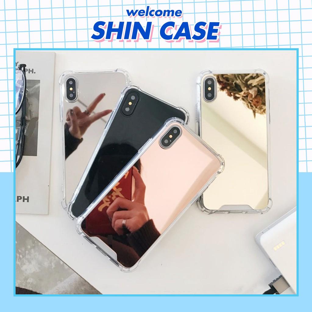 Ốp lưng iphone Tráng Gương 5/5s/6/6plus/6s/6s plus/6/7/7plus/8/8plus/x/xs/xs max/11/11 pro/11 promax – Shin Case