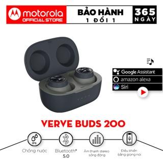 Tai nghe bluetooth Motorola không dây 2in1 - VerveBuds200- Âm thanh sống động- Thời gian chơi nh thumbnail