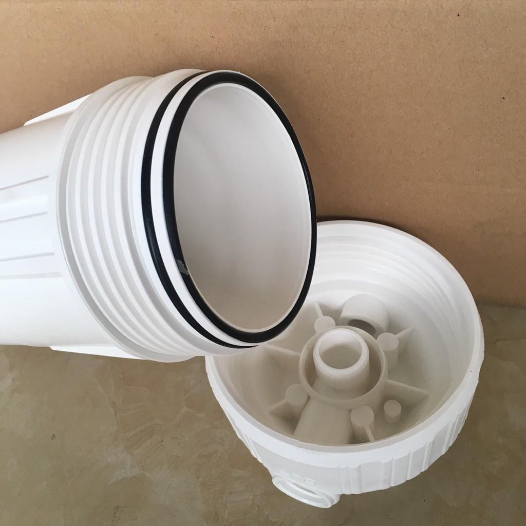 Combo 1 cốc lọc 10 inch đầy đủ lõi lọc và phụ kiện