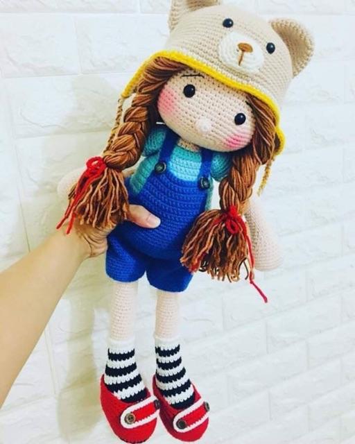 búp bê gấu Theodore Doll cực kì dễ thương