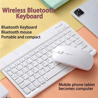 Yêu ThíchBàn phím không dây Bluetooth mini .Wireless Bluetooth Keyboard Mouse Set Tablet Ipad Keyboard Mini Bluetooth Keyboard Mouse Tablet Phone Universal
