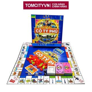 Cờ Tỷ Phú Việt Nam - Trò chơi gia đình rèn luyện tư duy tài chính hay nhất mọi thời đại (hộp to cứng) thumbnail