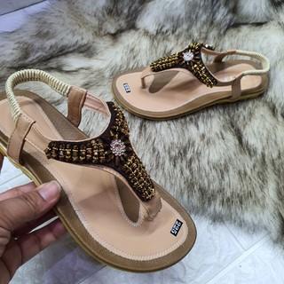 Sandal kẹp đính đá