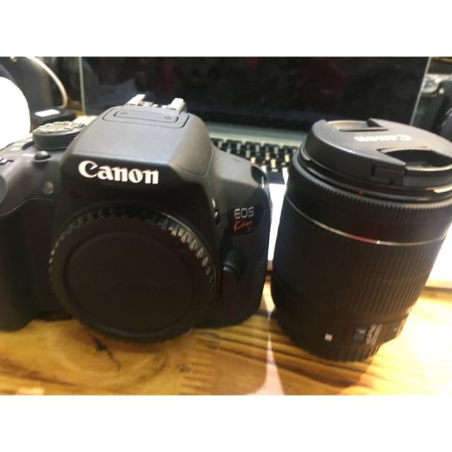 Máy ảnh Canon 700D kèm kiss 18-55mm STM