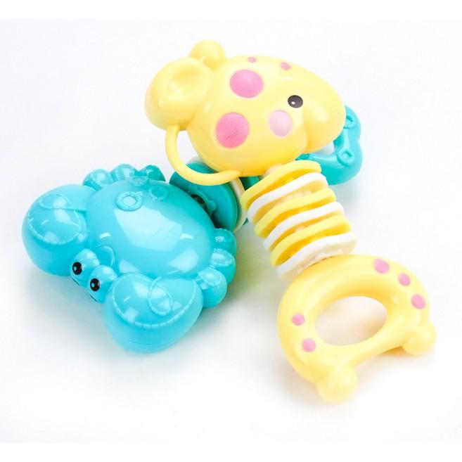 [HOT] Gặm nướu hình hươu cao cổ và cua dành cho bé - Toca Toys