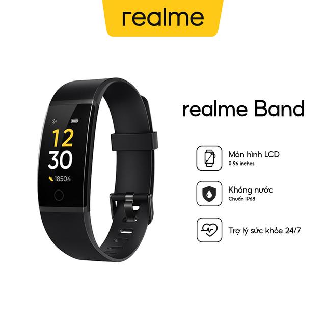 Vòng đeo tay thông minh Realme Band - Hàng Chính Hãng