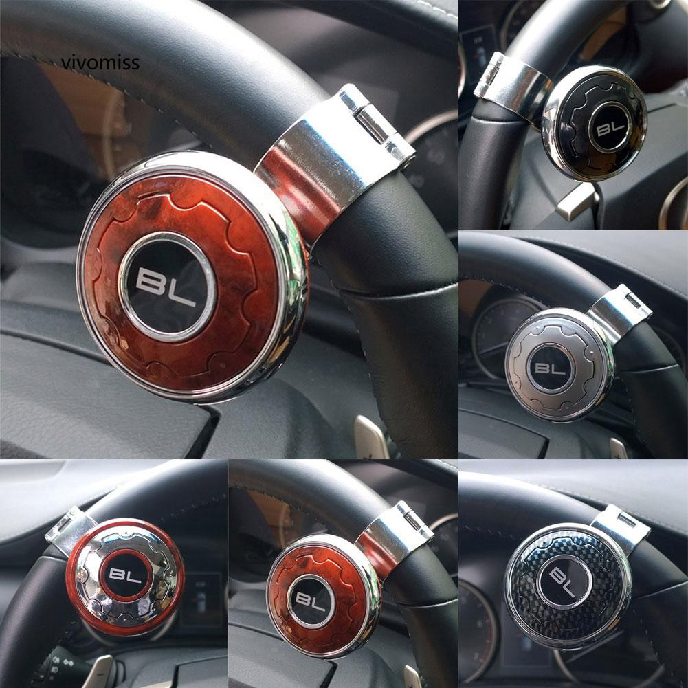 VVMS_Car Steering Wheel Knob Ball Hand Control Power Handle Grip Spinner Booster