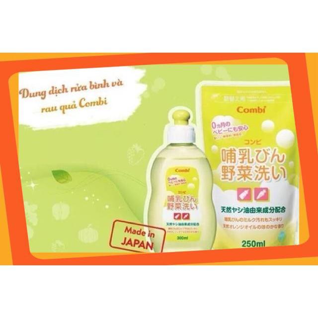(Giá Hấp Dẫn)Sản phẩm túi dung dịch rửa bình sữa và rau củ quả từ dầu cọ