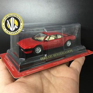 [Fullbox] Xe Mô hình tỉ lệ 1:43 DeAgostini – Ferrari Mondial Coupe