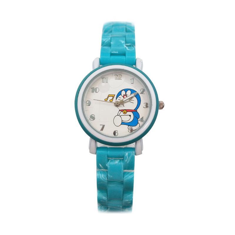 Đồng Hồ Đeo Tay Chống Thấm Nước # 3302 Hình Doraemon