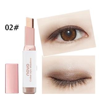 Phấn Mắt 2 Màu Dạng Thỏi Có Ánh Nhũ NoVo Eye Shadow Double Color No.5099 Shoptido thumbnail