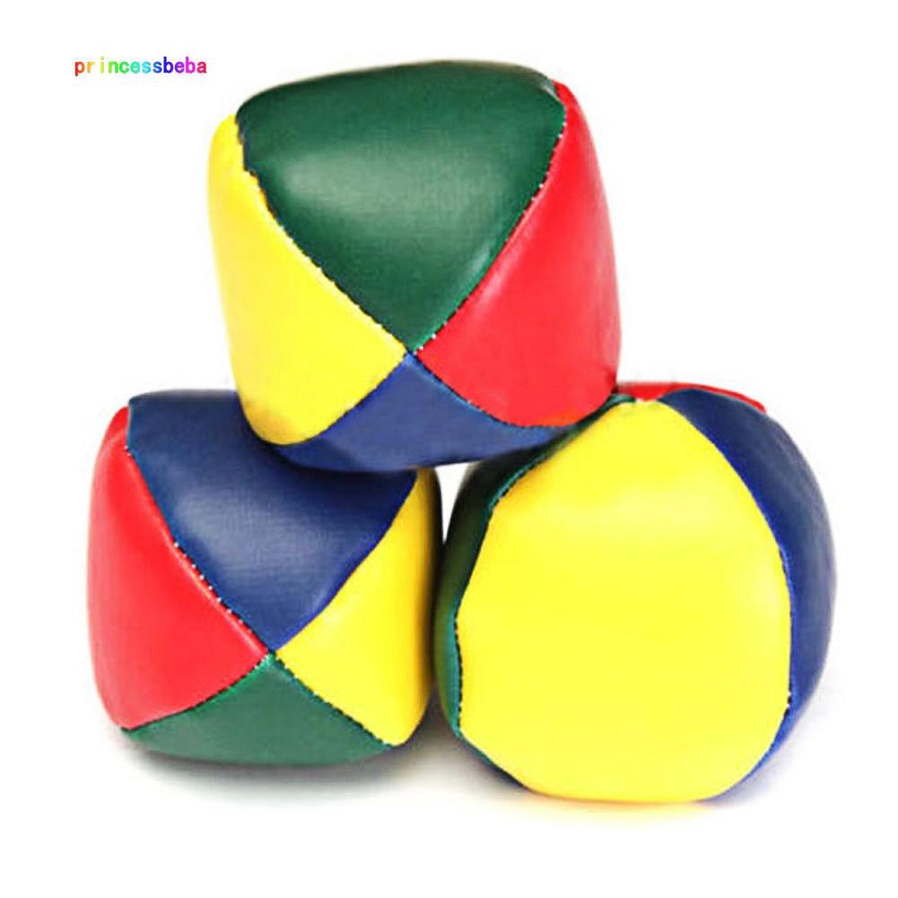 princessbeba Juggling Balls Classic Bean Bag Juggle Magic Circus Beginner Kids Toy